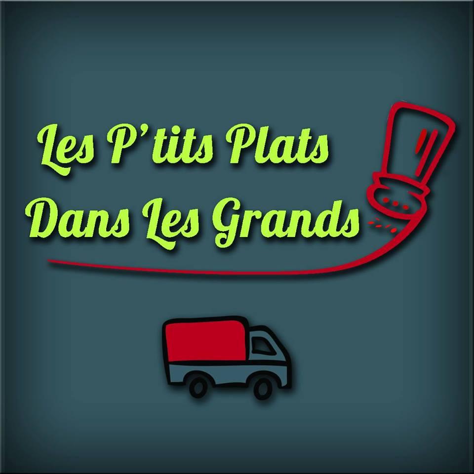 """logo de l'entreprise """"Les P'tits plats dans les grands"""""""